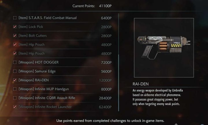 Raiden Unlocked
