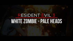 Resident Evil 3 White Zombie