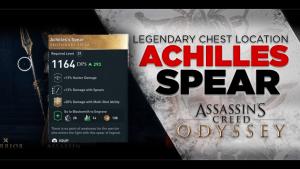 AC Odyssey Legendary Chest Location Achilles Spear