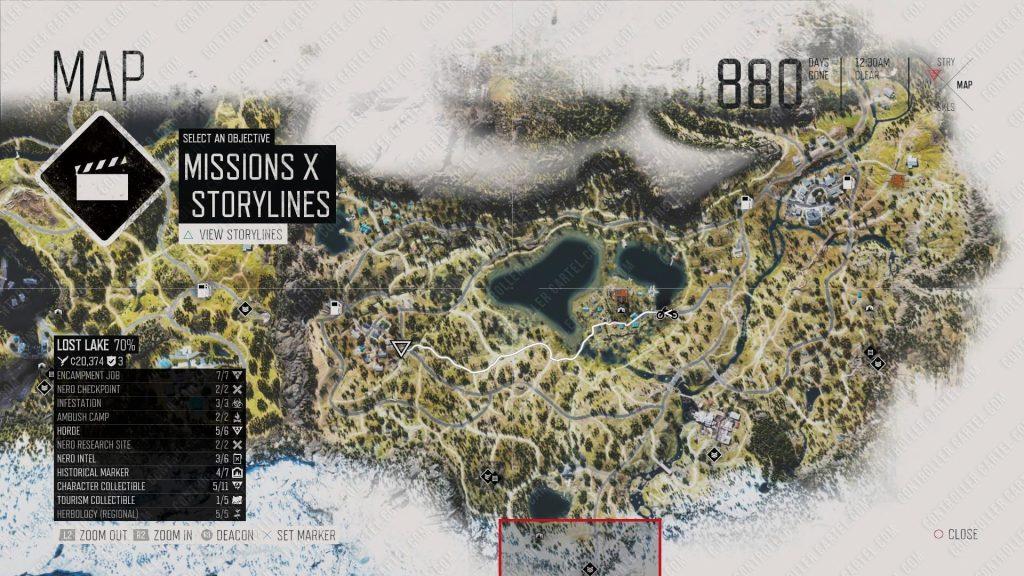Berley Lake Infestation Locations 2