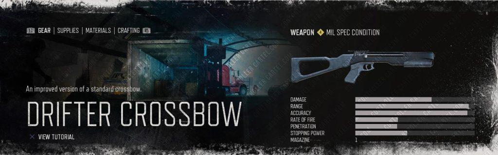 Drifter Crossbow Upgraded