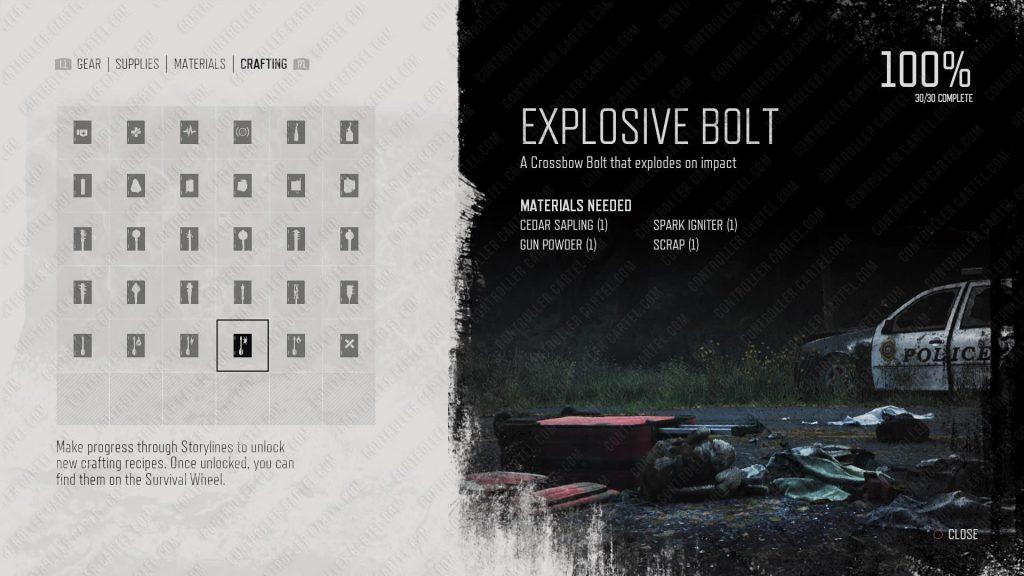 Explosive Bolt