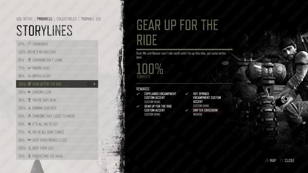 Gear Up For The Ride Storyline