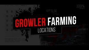 Days Gone Growler Farming-Locations