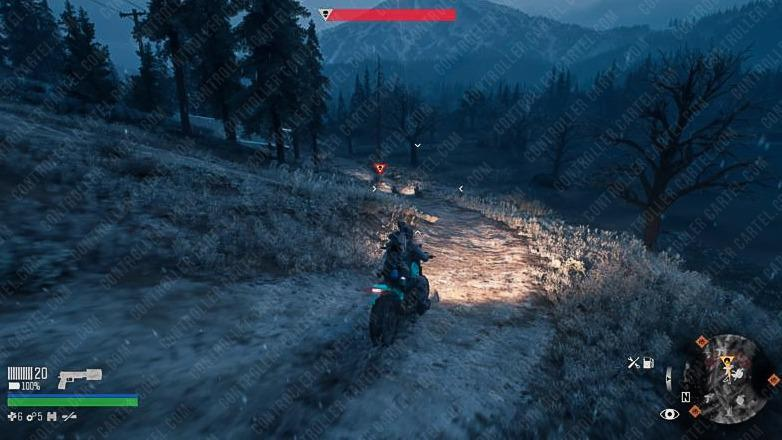 Days Gone Locate Lynchman Bike Chase