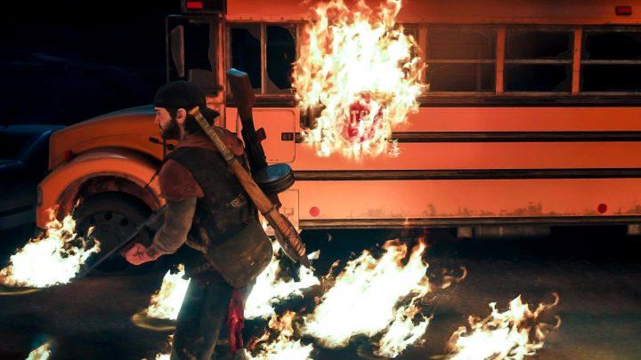 Napalm Molotov Fire Example