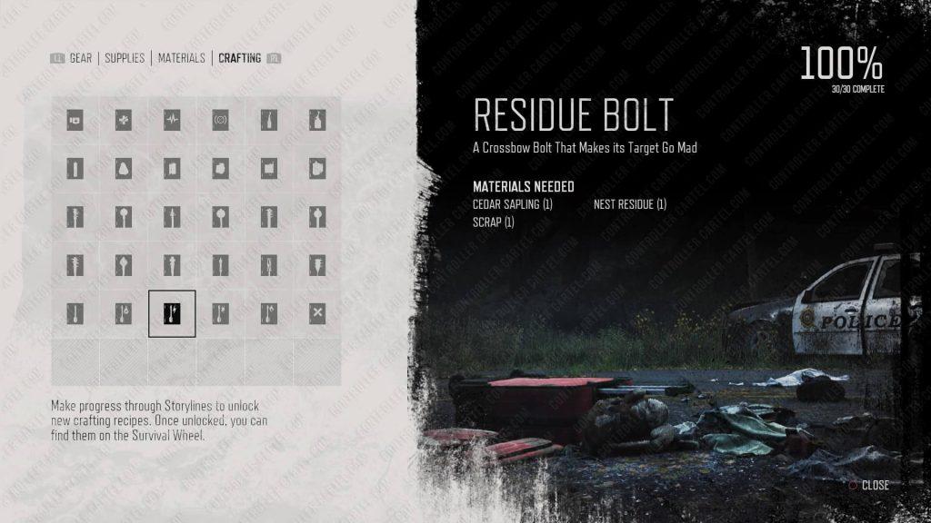 Residue Bolt