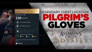 AC Odyssey Pilgrims Gloves Chest