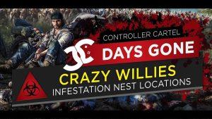 Days Gone Crazy Willies Infestattion
