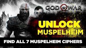 God Of War Cipher Locations Muspelheim
