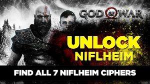 God Of War Cipher Locations Niflheim