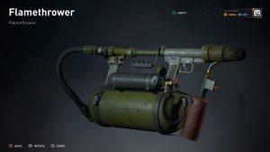 World War Z Flamethrower