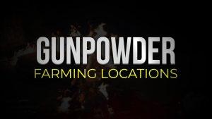 Days Gone Gunpowder