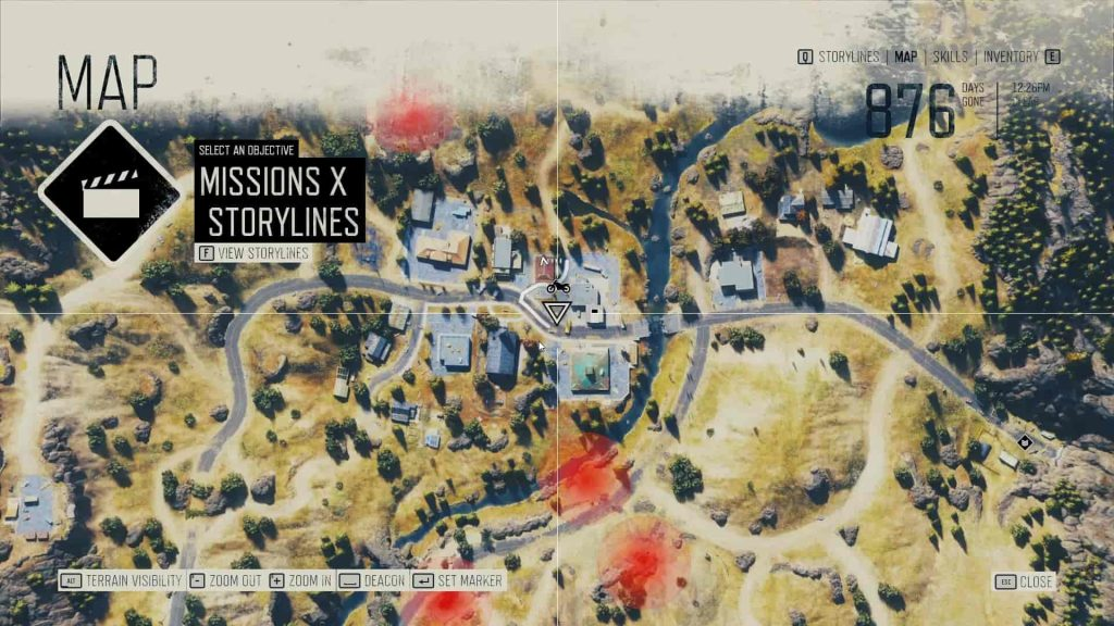 Days Gone Kerosene Location 6 Map